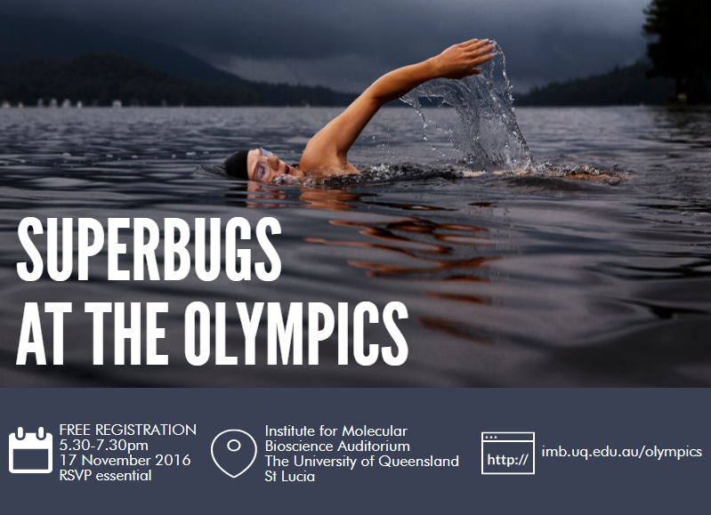 Superbugs at the Olympics